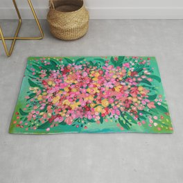 Mom's bouquet Rug