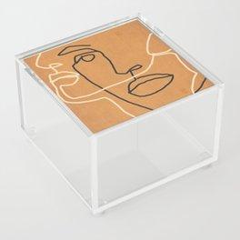 Abstract Face 6 Acrylic Box