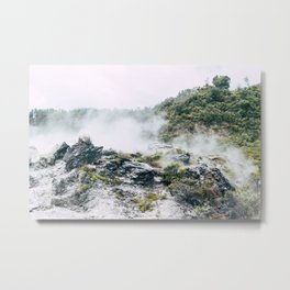 Steaming Earth Metal Print