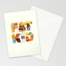 FAT KID Stationery Cards