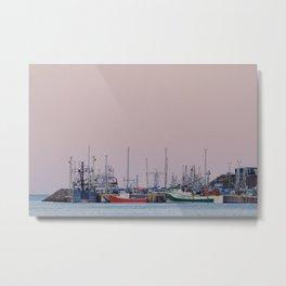 Harbour at St. John's Metal Print