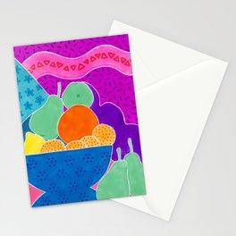 La passoire et les fruits  Stationery Cards
