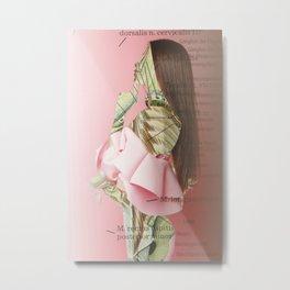 Crazy Woman · Agatha A 201 Metal Print