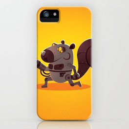 Robo Squirrel iPhone Case