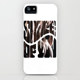 The most streamed song of 2019, Shape of you. iPhone Case