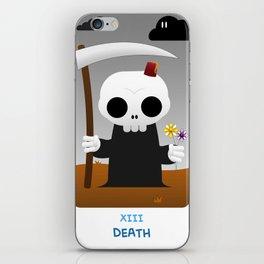The Chibi Tarot - XIII Death iPhone Skin