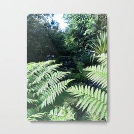 Into the Jungle Metal Print