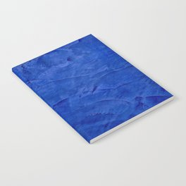 Pretty Blue Cases - Ombre - Stucco - Pillow - Classic Blue - Shower Curtains Notebook