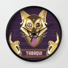 Tabaqui Wall Clock