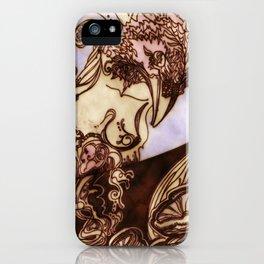 Deep Daze by MaxillaMellifer, aka Rosemary Knowles iPhone Case