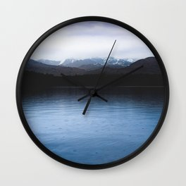 Cold Water - 80/365 nature lake photography Wall Clock