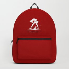 Running from Zombies Backpack