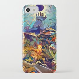 Apostles preparing for the feast iPhone Case