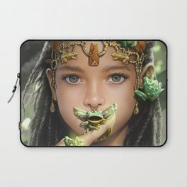The princess and the frogs Laptop Sleeve