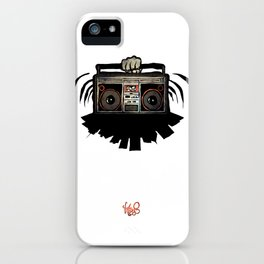 """Livin' For The City - """"Good Vibrations"""" iPhone Case"""