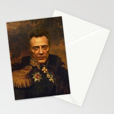 Christopher Walken - replaceface Stationery Cards