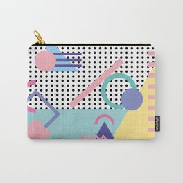 Memphis Pattern 5 - 80s - 90s - Retro Carry-All Pouch
