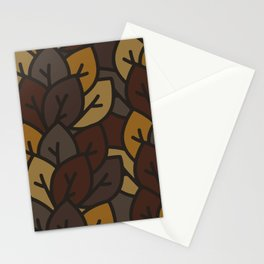 Leaf litter III Stationery Cards