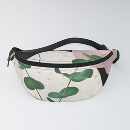 Eucalyptus Fan Palm Finesse #4 #tropical #decor #art #society6 Fanny Pack