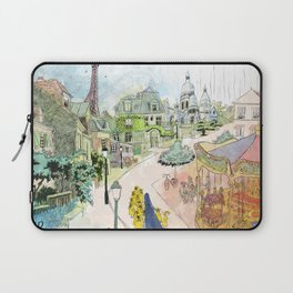 Madeline Montmartre colored Laptop Sleeve