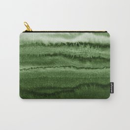 WITHIN THE TIDES FOREST GREEN by Monika Strigel Carry-All Pouch
