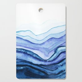 Washed Away Watercolor Cutting Board