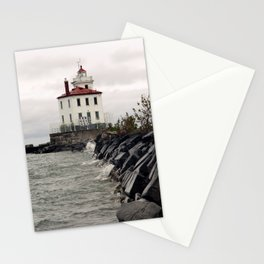 The Breakers Roar on an Unseen Shore  Stationery Cards