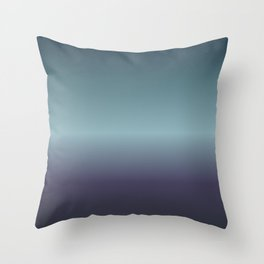 Fog and Steel Throw Pillow
