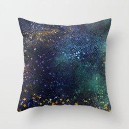 Galaxy III Throw Pillow