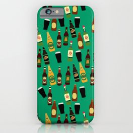 Funny Alcohol Botles iPhone Case