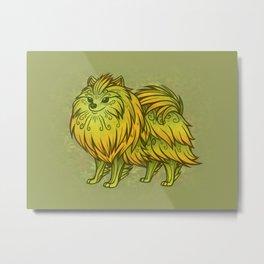 Sylvan Pomeranian Metal Print