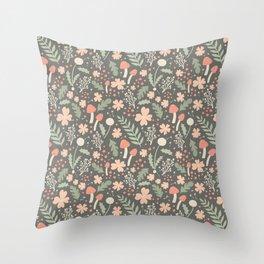 Cottagecore II Throw Pillow