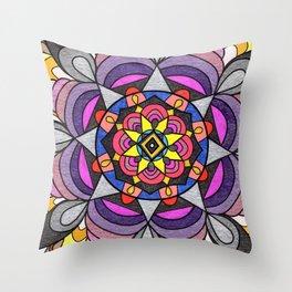 skyflower 8 Throw Pillow