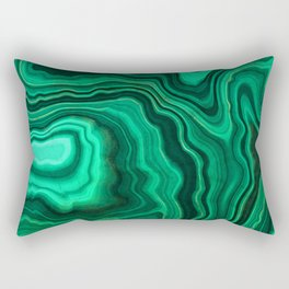 Emerald Marble Rectangular Pillow