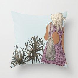 Shoreside Throw Pillow