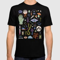 Curiosities Black LARGE Mens Fitted Tee