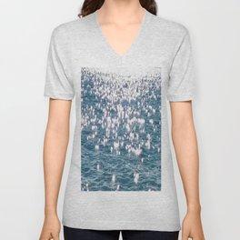 Sparkling Ocean Water Unisex V-Neck
