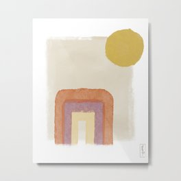 Portal In The Sun Metal Print
