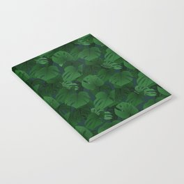 Monstera (Jungle) - Emerald x Teal Notebook