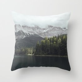 Slow days - Landscape Photography Throw Pillow