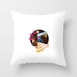 i would go out but (i'd rather just watch youtube videos honestly) Throw Pillow