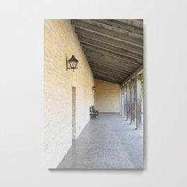 Old Outside Corridor Metal Print