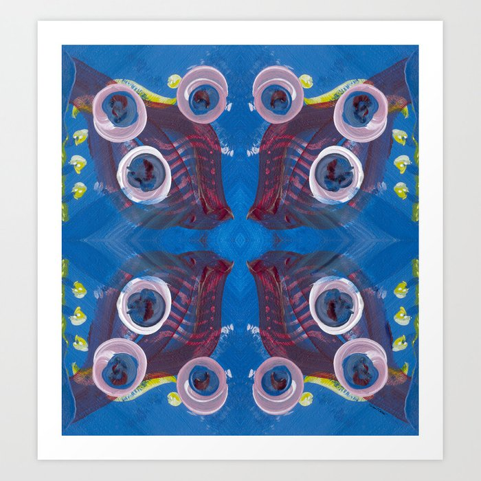 Transitions - Reflections on the edge of anxiety Art Print
