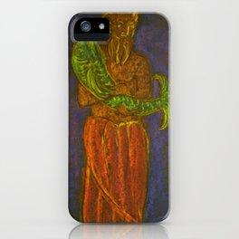 Manu and the Fish II iPhone Case