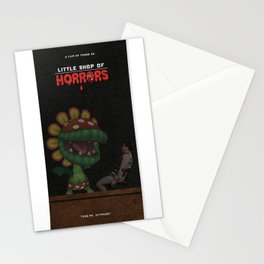 Little Shop of Horrors Stationery Cards