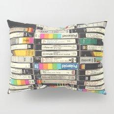 VHS Stack Pillow Sham