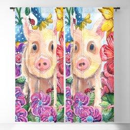 Penelope Pig Blackout Curtain