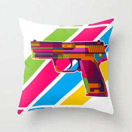 Heckler and Koch USP Throw Pillow