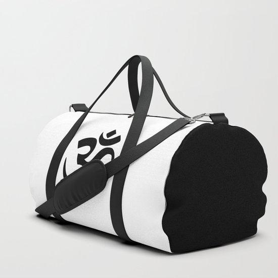 Minimal Black & White Om Symbol by minimallife