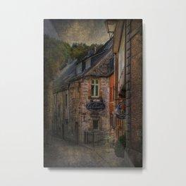 Old European village Metal Print